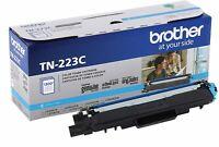 Brother Genuine TN-223C CYAN Toner Cartridge for HL-L3210CW L3230CDW MFC-L3710CW