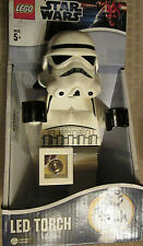 Star Wars LEGO Storm Trooper LED Torch (flashlight)-LIGHTS UP! NEW IN BOX!
