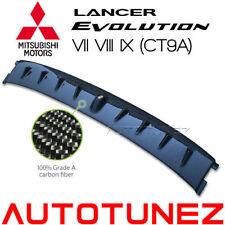 Carbon Fiber Vortex Generator Fin For Mitsubishi Lancer EVO 7 8 9 CT9A Tunezup