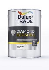 Dulux Trade Diamond Eggshell (Pure Brilliant White) 5L
