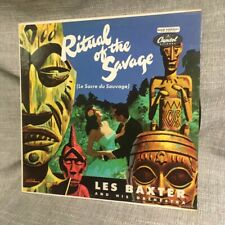 LES BAXTER Ritual Of The Savage Capitol  RARE LP EXOTICA