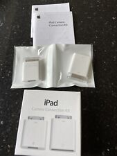 Genuine Apple iPad Camera Connection Kit MC531ZM/A NIB