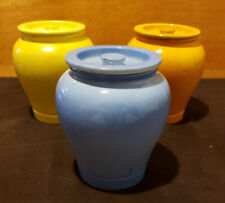 Lot of 3 - Vintage Frank Cooper Oxford Made in England - Ceramic Containers