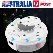 Electric USB Automatic Flycatcher Fly Trap Mosquito Reject Control Catcher AU