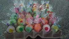 LOT OF 25 SMALL BATH BOMBS - GOLF-BALL SIZE - VARIOUS SCENTS- FREE SHIPPING