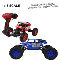 1/18 Scale 2.4G 4WD Radio Remote Control Off-Road RC Car ATV Buggy Monster Truck