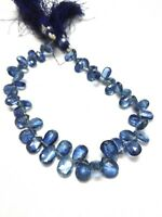Kyanite Natural Gemstone 925 sterling silver  Bracelet 7-8