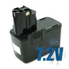 Batteria per BOSCH, WURTH GBM 7,2 VES-2, GSR 7,2 VES-2, PSR 7,2 VES-2, 7,2 Volt,