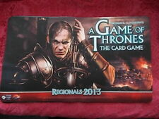 A Game Of Thrones  LCG  Promo Official FFG Playmat Regionals 2013 XMAS SALE