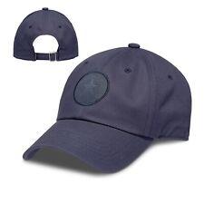 CONVERSE MENS BASEBALL CAP.NAVY BLUE TONAL STRAPBACK ADJUSTABLE SNAPBACK HAT 8