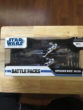 Star Wars Battle Packs The Clone Wars Speeder Bike Recon New Sealed Hasbro