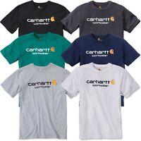 T-Shirt Carhartt 101214 Core Logo Shirt Sleeve Arbeit Freizeit Workwear Neu