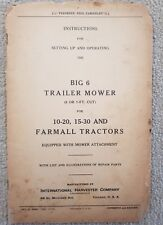 P Zcm164 Mower Parts Book Agriculture/farming Tractor Manuals & Publications