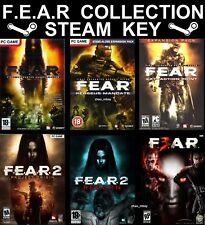 F.E.A.R COLLECTION (Complete) PC Global Steam GAME (NO CD/DVD) FAST DELIVERY!
