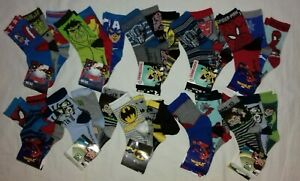 3prs Ben 10,spiderman,batman,transformers socks. 6-8.5