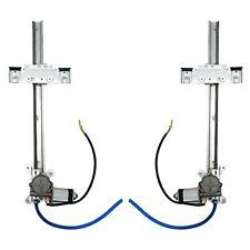 2 Door Flat Power Window Kit U-Wire Driver/Passengers AutoLoc AUTPW5500 truck