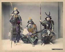 Samurai In Armour Kusakabe Kimbei Japan 19thc Classic Reprint Photo 6x5 inch