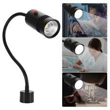 7W Sewing Machine Light US Plug Gooseneck Working Lamp With Magnetic Base