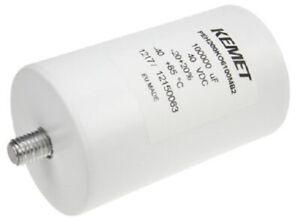 Kemet PEH200 ALUMINUM ELECTROLYTIC CAPACITOR 66.6x109.2mm 0.1F 40VDC 8mΩ 24.9A