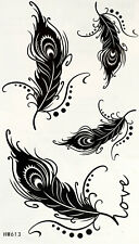 New Einmal-Tattoo Temporary Body Art Wasserdicht HM613 Neu