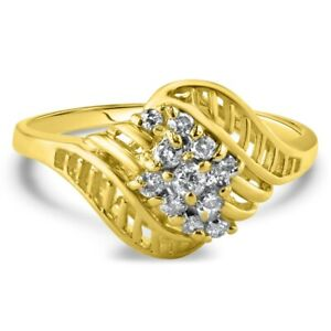 Certified 0.90cttw Diamond 14KT Yellow Gold Ring
