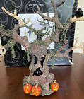 LARGE DEPT 56 HAUNTED TREE #35020 HALLOWEEN SPOOKY SOUNDS LIGHTS & MOTION