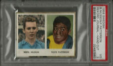 1956 Swedish Rekord Journal Floyd Patterson & B Nilsson PSA 3 VG Boxing Card