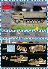 Schatton Modellbau 1/72 MB L4500 R Maultier German Heavy Truck # 72007/*