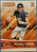 Mitchell MITCH TRUBISKY Chicago BEARS 🏈 2017 ROOKIES & STARS * RC * ROOKIE CARD