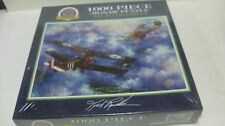 The Flying Circus 1,000 Piece Jigsaw Puzzle 1995 By Kirk Randle NEW SEALED gm267