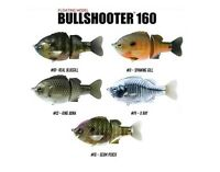 DEPS BULLSHOOTER 160mm FLOATING TOPWATER WAKEBAIT SWIMBAIT BASS SELECT COLOR