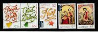 Australia 2018 : Christmas 2018 - Set of 5 Decimal Stamps, MNH