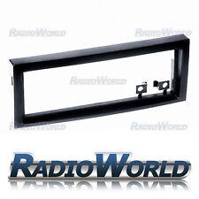 Peugeot 407 Single Din Stereo Radio Fascia Facia Panel Placa De Sonido Envolvente Ribete Negro