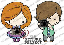 PICTURE PERFECT-The Greeting Farm Cling Mount Rubber Stamp-Anya/Ian-Camera