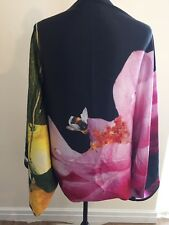 Ted Baker SAMPLE Citrus Bloom Cape Scarf STUNNING! 100% Silk BNWTS