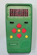 1978 Tandy Football II Electronic Handheld Video Game Console RARE