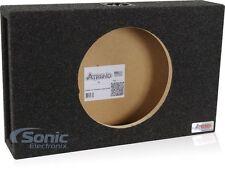 "NEW! Atrend 12SME Ultra Slim Series Single 12"" Sealed Subwoofer Enclosure Box"