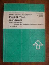 ENSTA 409-NAVIRE DE COMMERCE-CHOIX ET TRACE DES FORMES-T.I~J.M. BOSTETTER~~