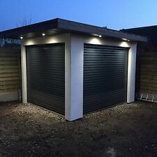 electric roller Garage Door Insulated Nationwide Fitting Service Available 55mm