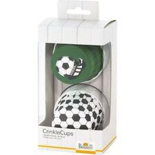 BIRKMANN Crinkle Cups FUSSBALL Muffinförmchen Muffinformen Cupcake Fußball D7cm