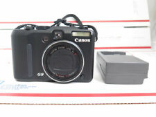 CANON Powershot G9 with 8GB SD memory card and charger