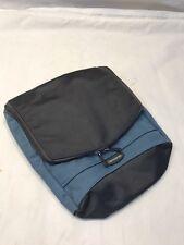 Samsonite Mens Hanging Wash Toiletry Cosmetic Bag Travel Case - Blue