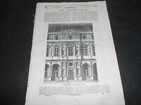 1847 PARIGI LOUVRE CARLANTONIO DE ROSA MARCHESE VILLAROSA INGHILTERRA ORATORE