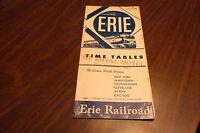 JULY 1956 ERIE RAILROAD FORM 1 SYSTEM PUBLIC TIMETABLE