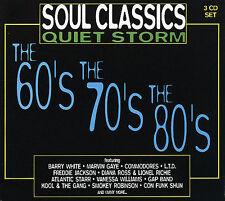 Soul Classics Quiet Storm [Box] by Various Artists (CD, Nov-1997, 3 Discs,...