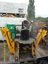 JCB Midi centre mount and rear excavator frame attachment