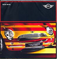 Mini One & Cooper early UK market sales brochure