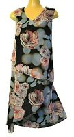 TS dress TAKING SHAPE plus sz XL / 24 Countess Dress layered floaty NWT rrp$180!
