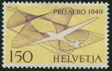 SWITZERLAND  1949 AIR MAIL 1Fr50 'PURPLE & YELLOW' SG499 MNG Cv£65 [A7514]*