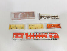 CN956-0,5 #4x Preiser / Merten Escala Z Set: 8510 +8522 +88515 +2409 ,Mint + Box
